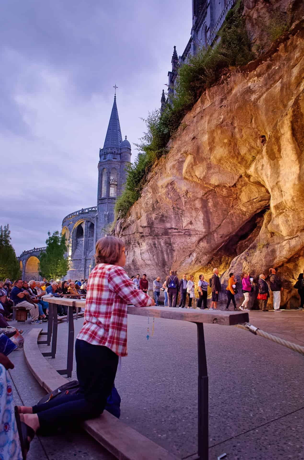Visite du sanctuaire de Lourdes